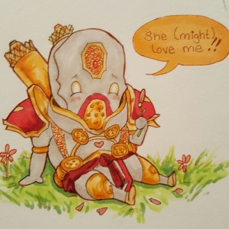 Chibi Malekus: Even the scariest warcasters can look cute